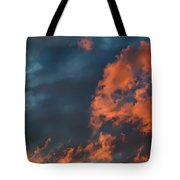 Dynamic Sky Tote Bag