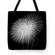 Bang Bang Black And White  Tote Bag