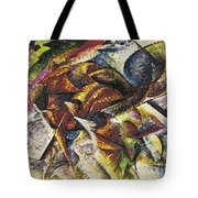 Dynamism Of A Cyclist Tote Bag