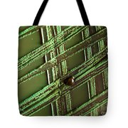 E. Coli In Culture Dish, Macro Image Tote Bag