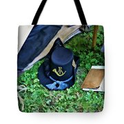 E Company Black Hat Tote Bag