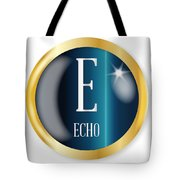 E For Echo Tote Bag