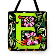 E In Green Tote Bag