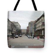 E Street Panorama Tote Bag