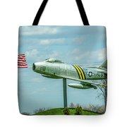 Eaa F-86 Sabre Tote Bag