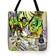 Eager Scientists Tote Bag