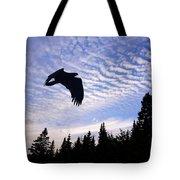 Eagle At Dawn Tote Bag
