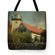 Eagle Bluff Lighthouse Tote Bag