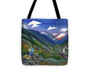 Eagle Boys Learn To Sing Tote Bag