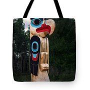 Eagle Clan Totem Pole Tote Bag