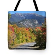 Eagle Cliff And Lafayette Tote Bag