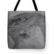 Eagle Eyed. Tote Bag by Cynthia Adams