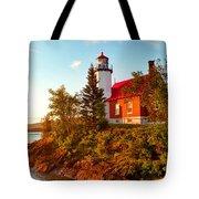 Eagle Harbor Lighthouse, Michigan Tote Bag