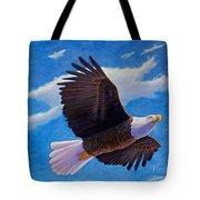 Eagle Heart II Tote Bag