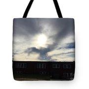 Eagle Cloud In The Carolina Sky Tote Bag