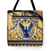 Eagle In The Middle Tote Bag