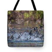 Eagle Induced Chaos Tote Bag