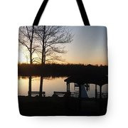 Eagle Lake Tote Bag
