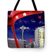 Eagle Needle Tote Bag