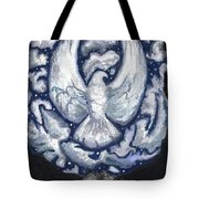 Eagle Of Clouds -- Actual Sky I Saw Tote Bag