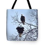 Eagle Pair Tote Bag