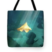 Eagle Ray Underwater Tote Bag