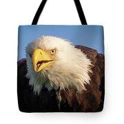 Eagle Stare 2 Tote Bag