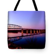 Eagle Watch Along The Mississippi Tote Bag