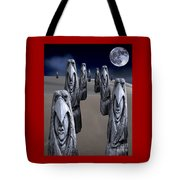 Eagleman Poles Tote Bag