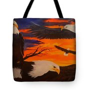 Eagles Are Back                 76 Tote Bag