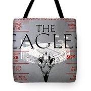 Eagles Concert Ticket 1980 Tote Bag