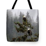 Eagles On Watch 1 Tote Bag
