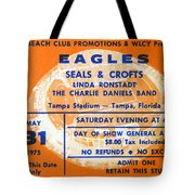 Eagles Tampa Stadium 1975 Tote Bag