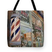 Eaker's Barbershop Tote Bag