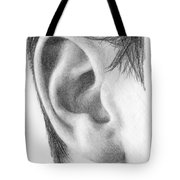 Ear Study Tote Bag