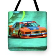 Early 1980s Mercury Capri Scca Trans-am Racer Tote Bag