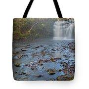 Early Autumn At Pixley Falls Tote Bag