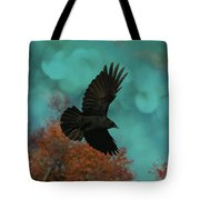 Early Autumn Flight Tote Bag