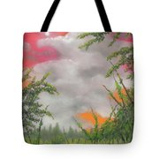Early Autumn Moon Tote Bag