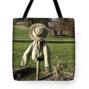 Early Autumn Scarecrow Tote Bag