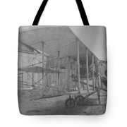 Early Aviation Tote Bag by Gwyn Newcombe
