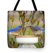 Early Bird Breakfast For Two Tote Bag