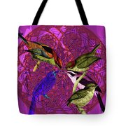 Early Bird Solar Energy Tote Bag by Joseph Mosley