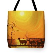 Early Dusk Tote Bag