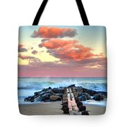 Early Evening At The Beach Tote Bag