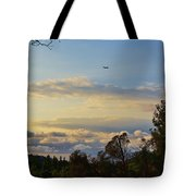 Early Evening Sunset 2 Tote Bag