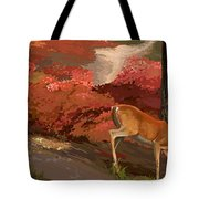 Early Fall Whitetail Tote Bag