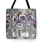 Early Flower Study Tote Bag
