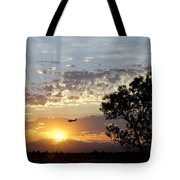 Early Flying Lesson Tote Bag
