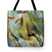 Early Hint Of Spring Tote Bag